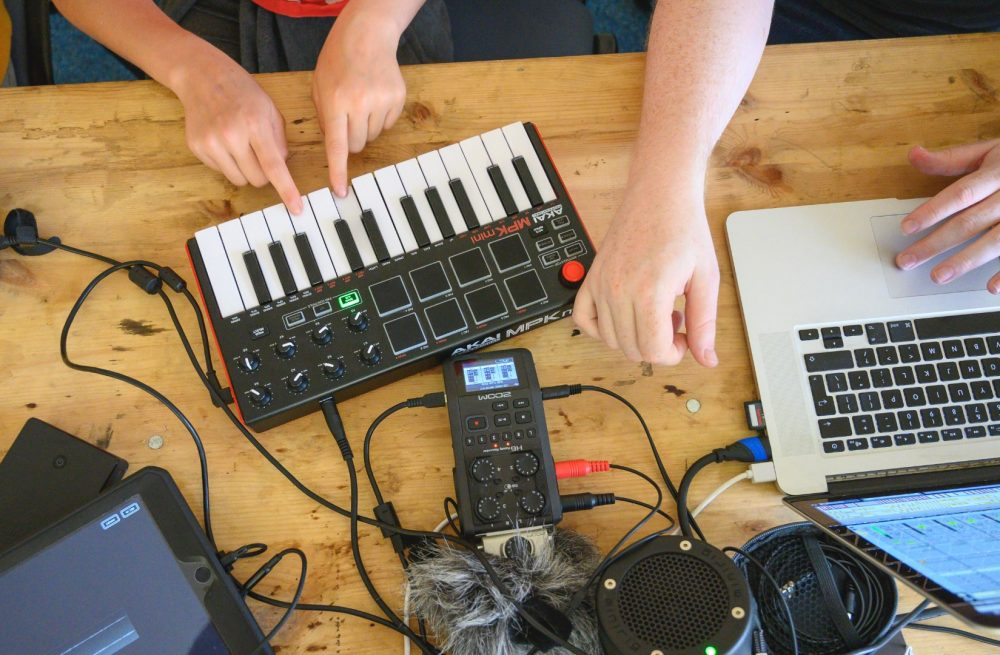 Music equipment used by 3019 project