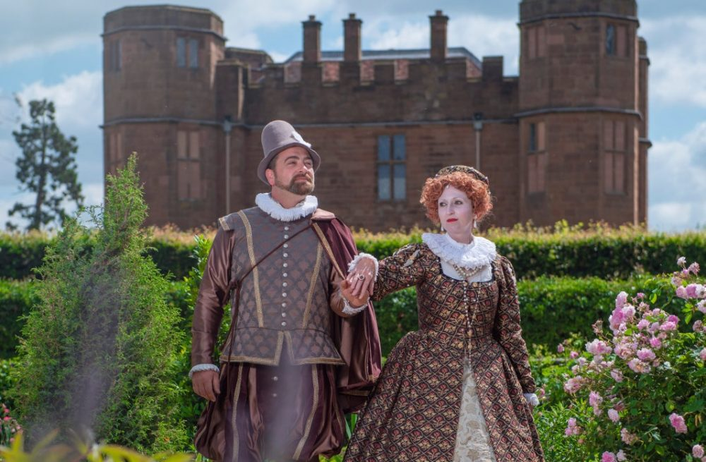 Elizabeth I and Robert Dudley and Kenilworth Castle