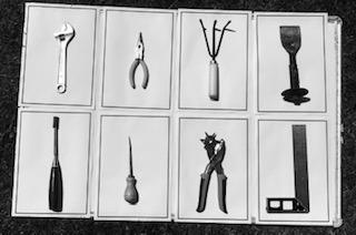 A grid of DIY tools