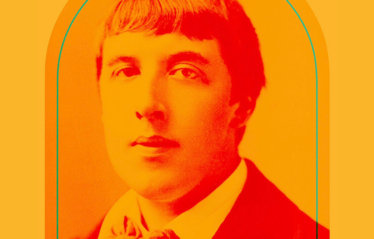 Graphic with photo of Oscar Wilde