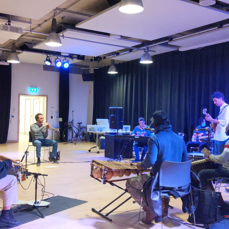 Band practising