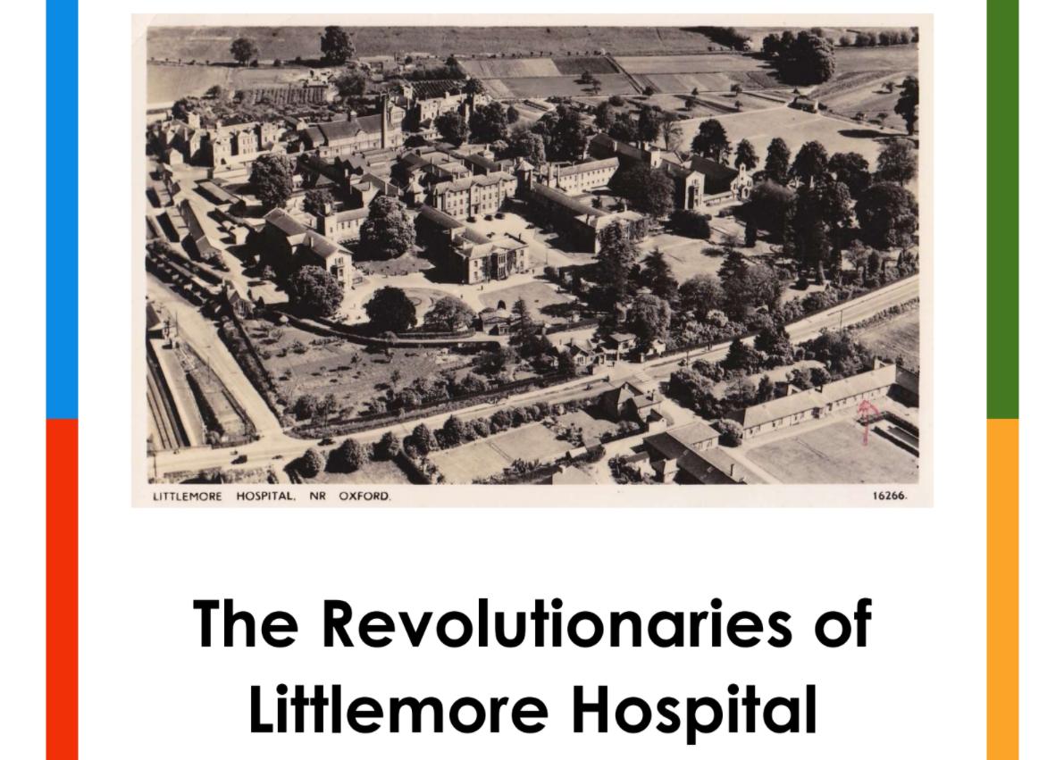 Aerial photo of Littlemore Hospital