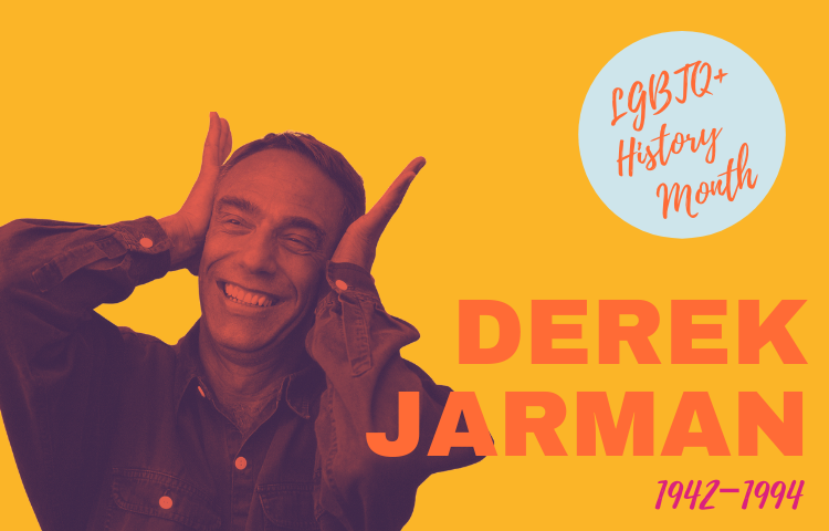 Graphic of Derek Jarman