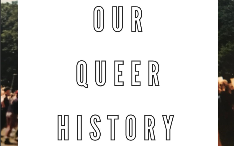 Our Queer History Zine cover