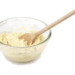 Bowl of cake mix