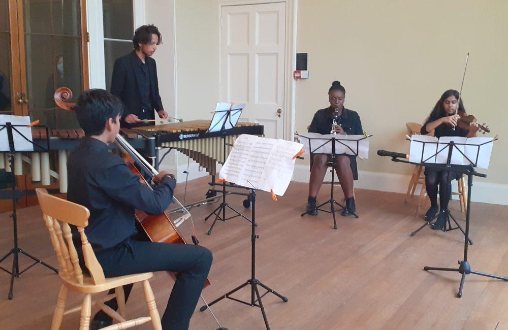 Group performing at Kenwood